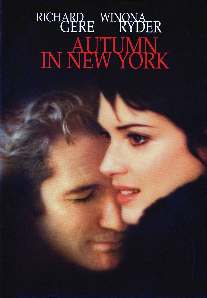 Autumn in New York poster e locandina