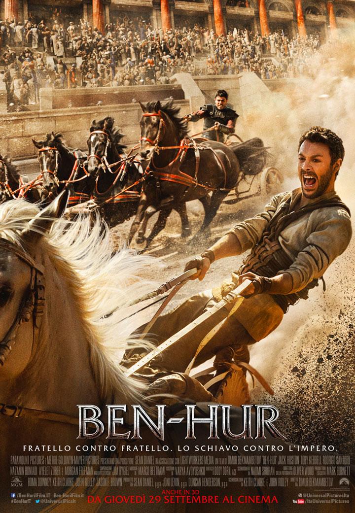 Ben-Hur, locandina e poster del film del 2016