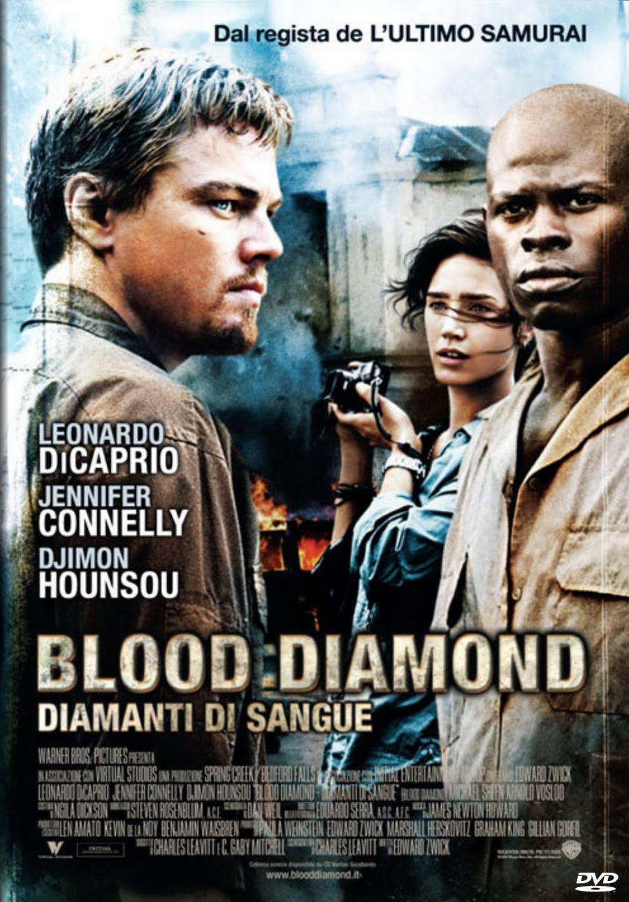 Blood Diamond - Diamanti di sangue poster e locandina