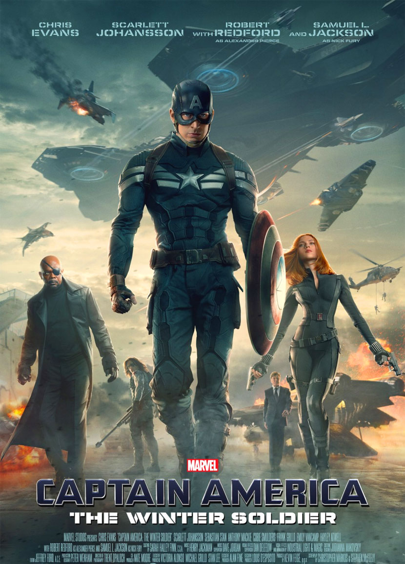 Captain America - The Winter Soldier poster e locandina