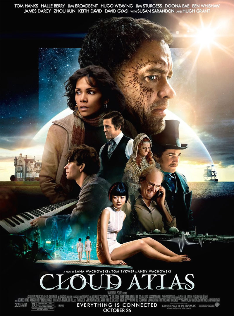 Cloud Atlas poster e locandina