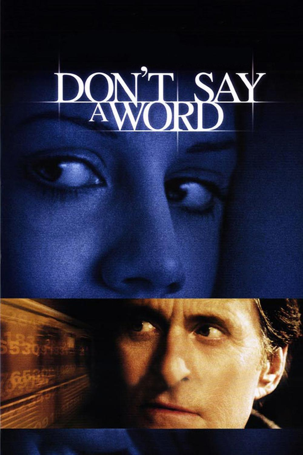 Don't Say a Word poster e locandina