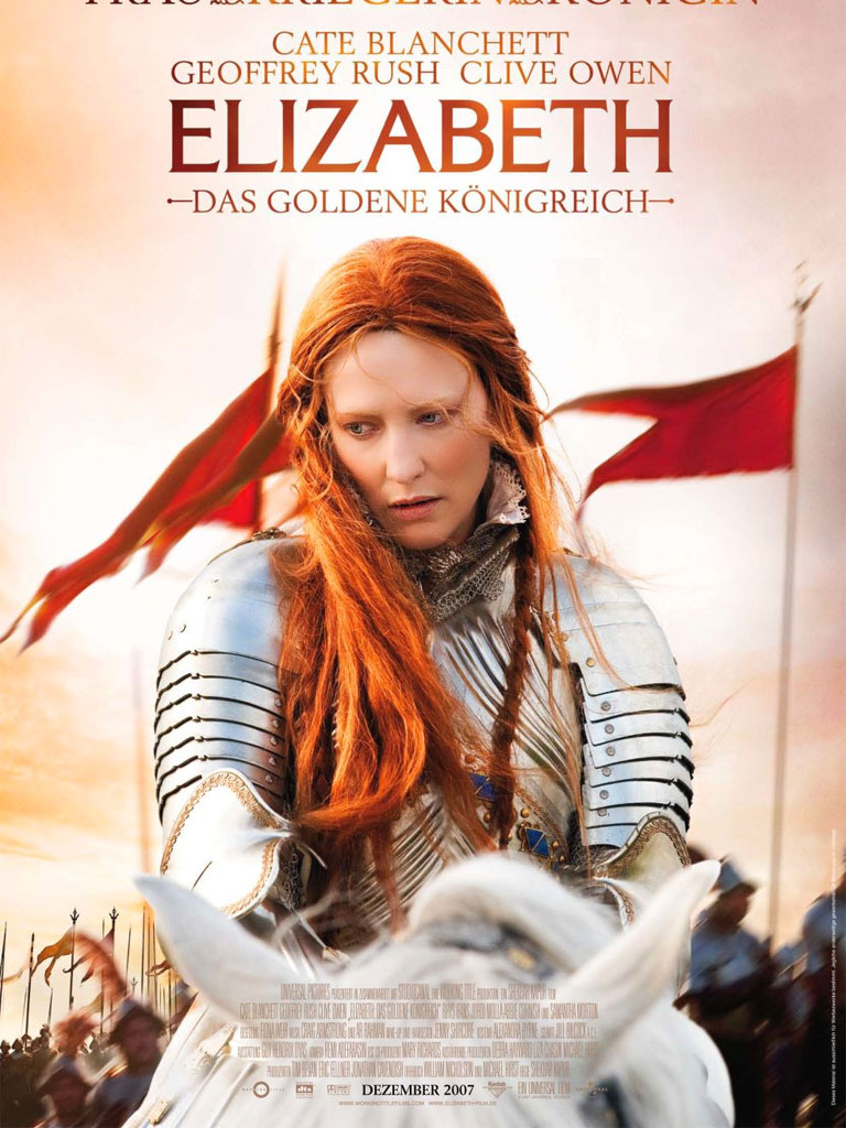 Elizabeth - The Golden Age poster e locandina