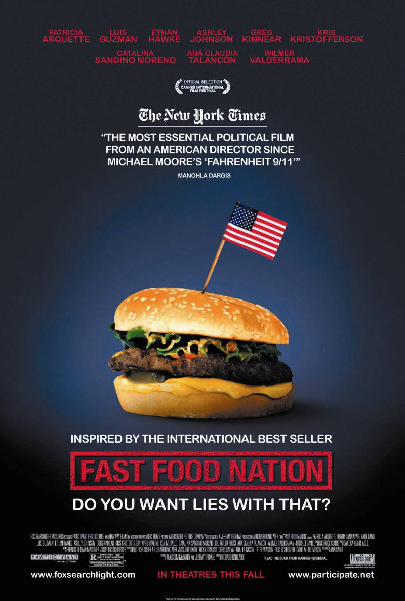 Frasi del film fast food nation for American cuisine film