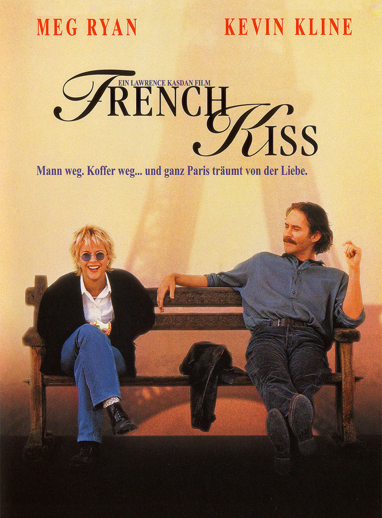 French Kiss poster e locandina