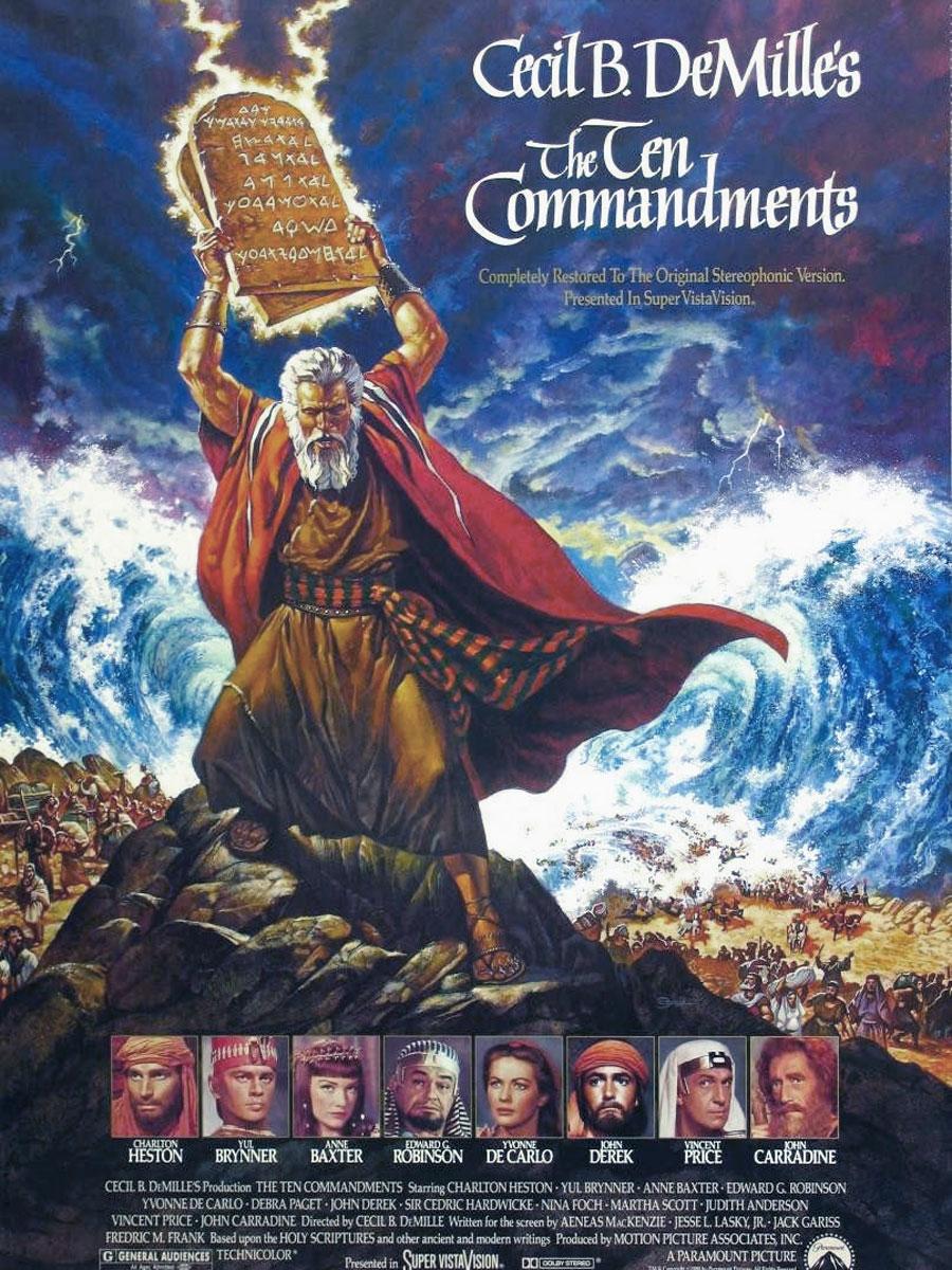 i dieci comandamenti film da