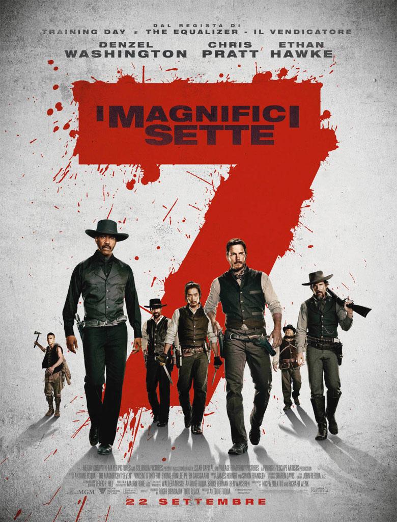 I Magnifici 7 - Locandina e poster del film
