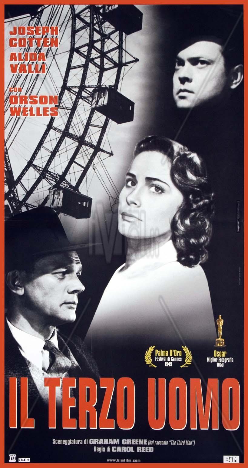 Risultati immagini per il terzo uomo film 1949