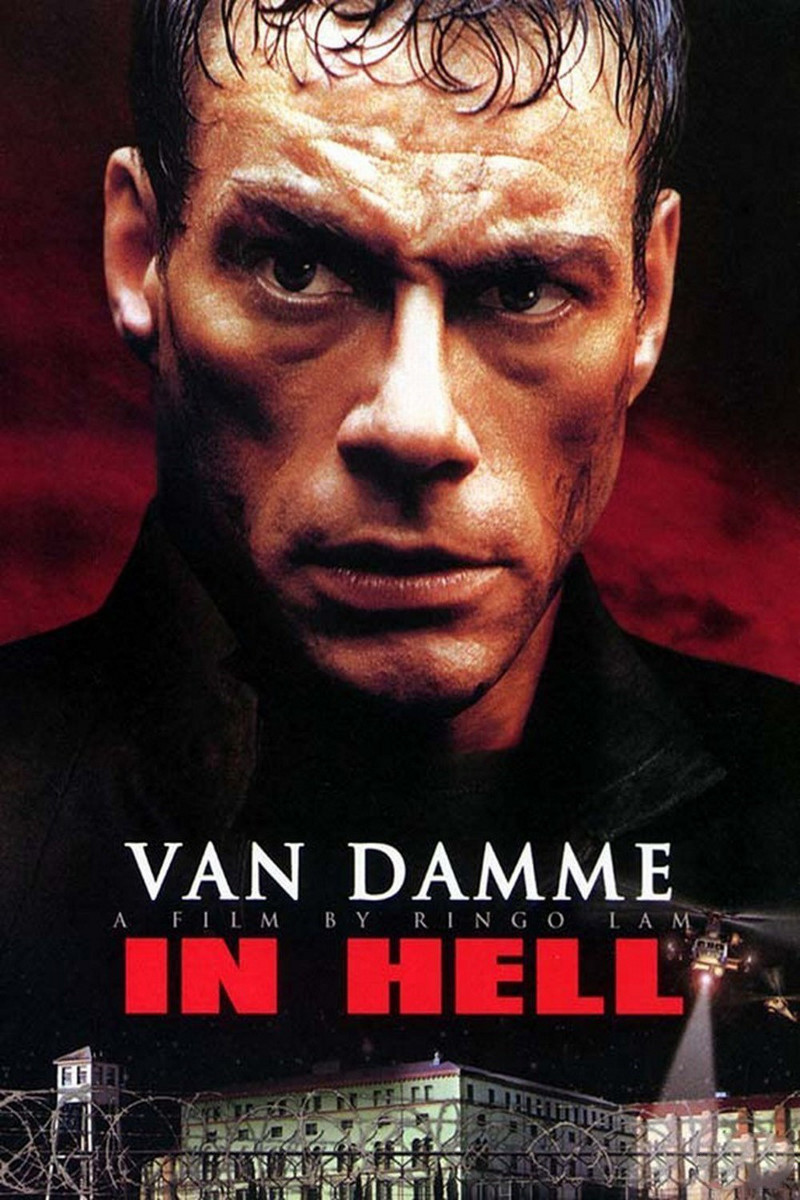 In Hell poster e locandina