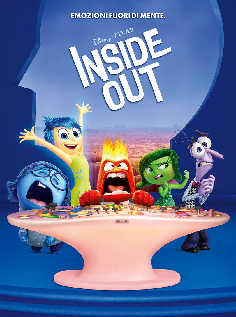 Inside Out poster e locandina