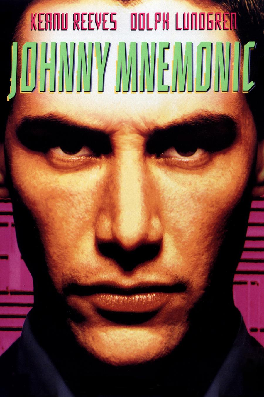 Johnny Mnemonic poster e locandina