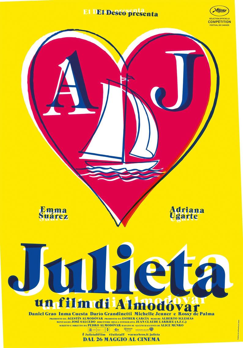 Julieta, la locandina del film