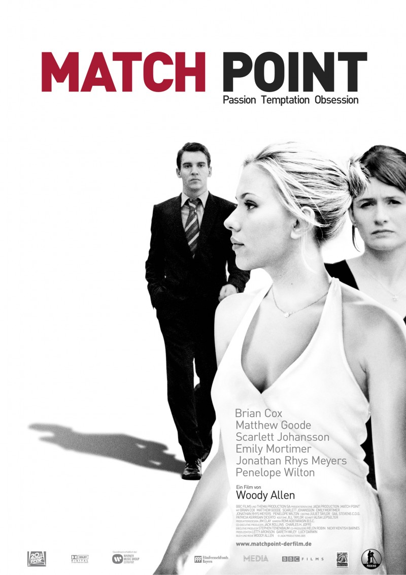 Match Point poster e locandina