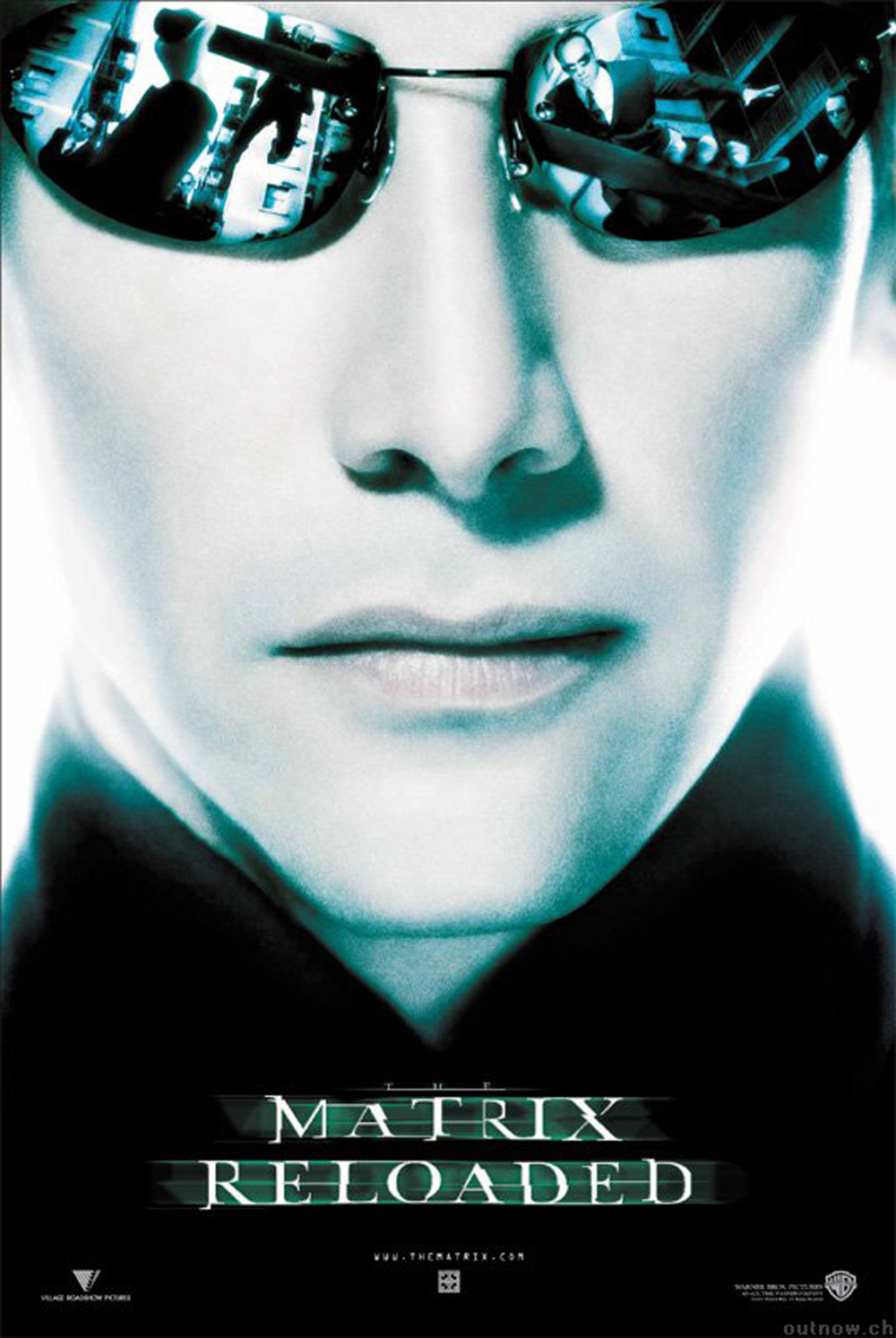 Matrix Reloaded poster e locandina