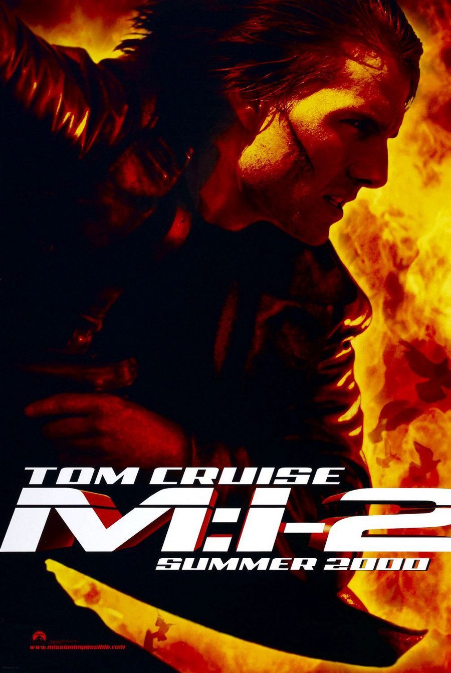 Mission: Impossible II poster e locandina