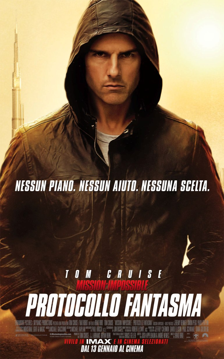 Mission: Impossible - Protocollo fantasma poster e locandina