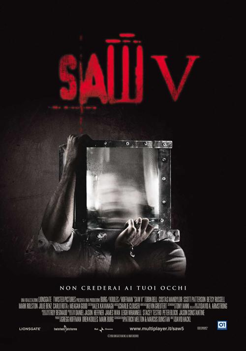 Saw V - Non Crederai ai Tuoi Occhi (2008)DVDRip AC3 ITA Sub