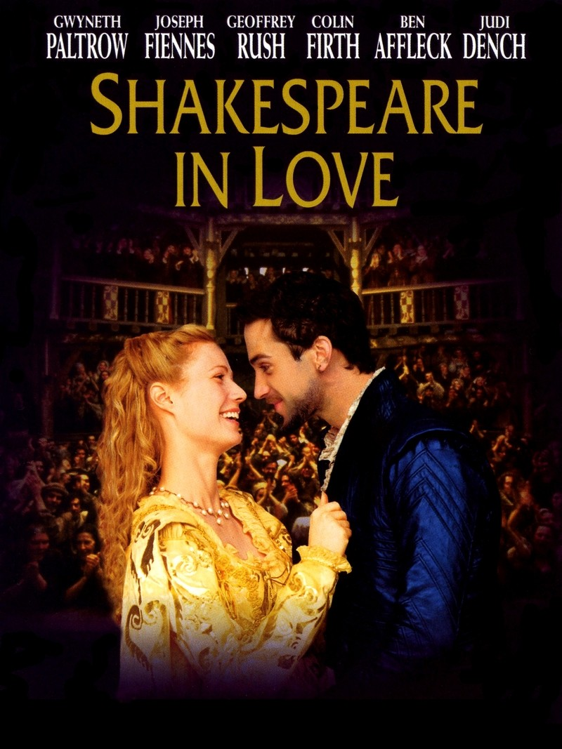 Shakespeare in Love poster e locandina