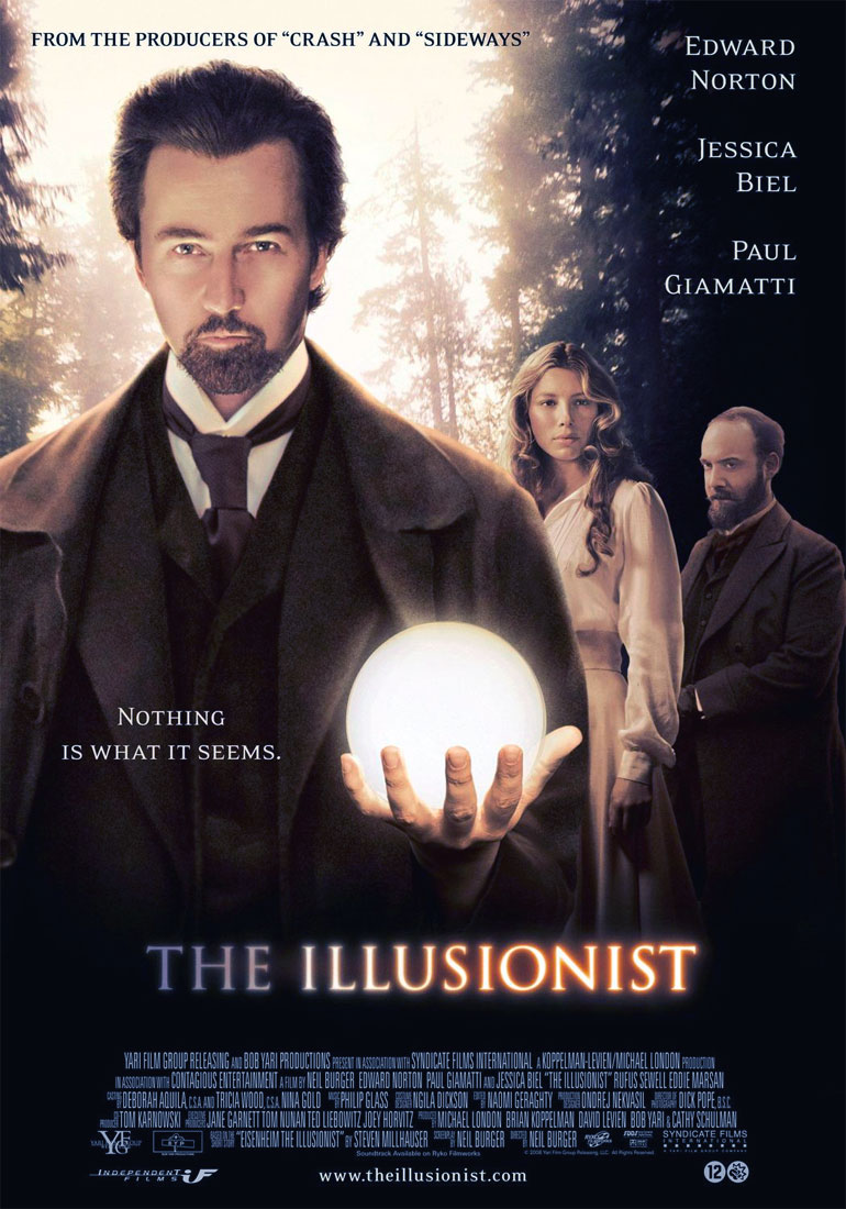 The Illusionist poster e locandina