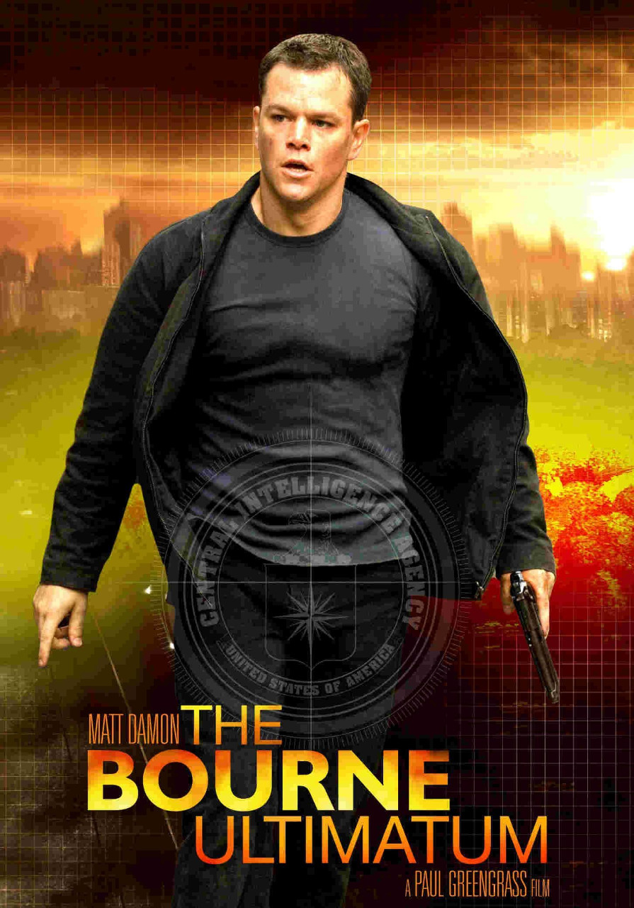 The Bourne Ultimatum poster e locandina