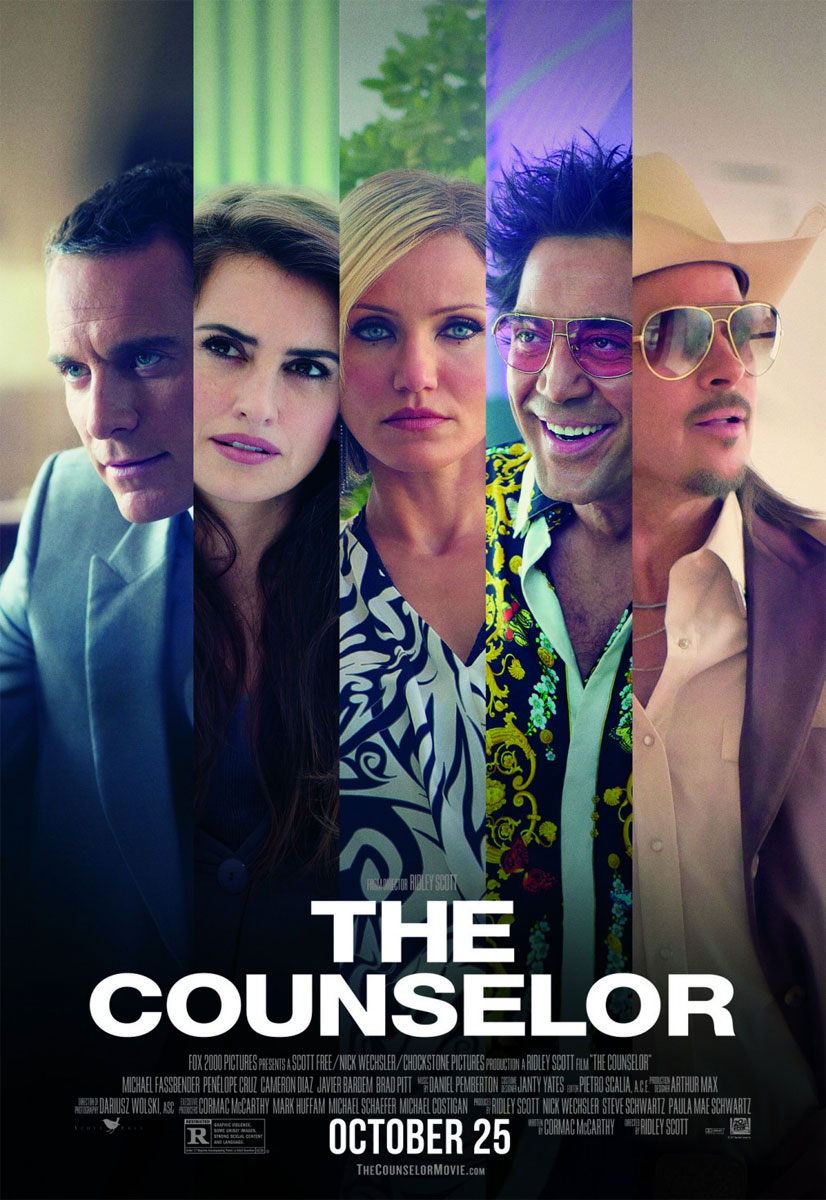 The Counselor poster e locandina