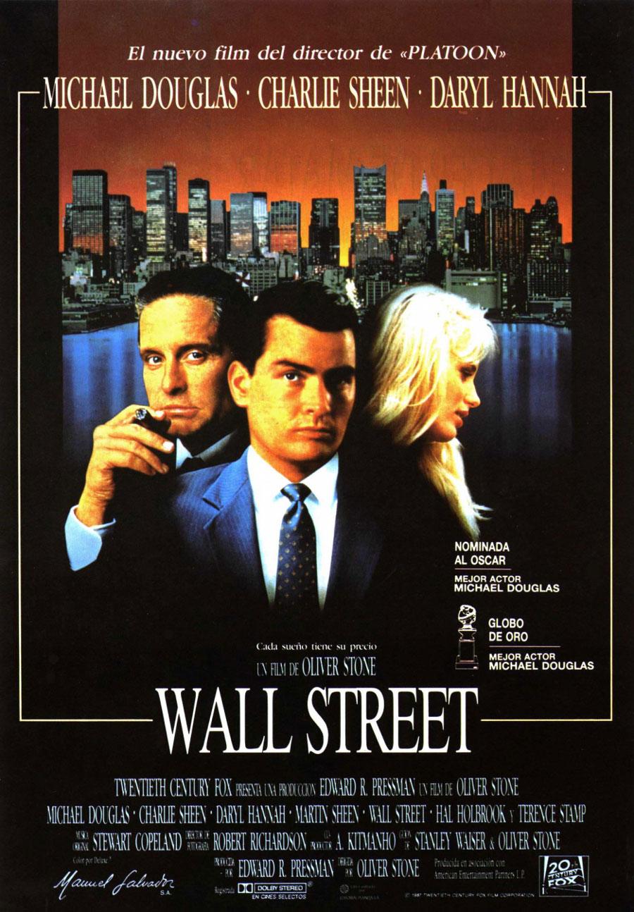Wall street il denaro non dorme mai amazon it michael douglas - Dal Film Wall Street