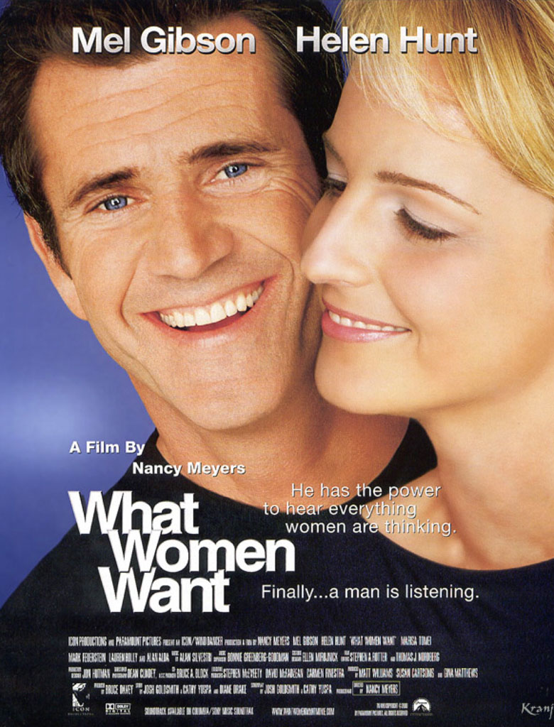 What Women Want poster e locandina