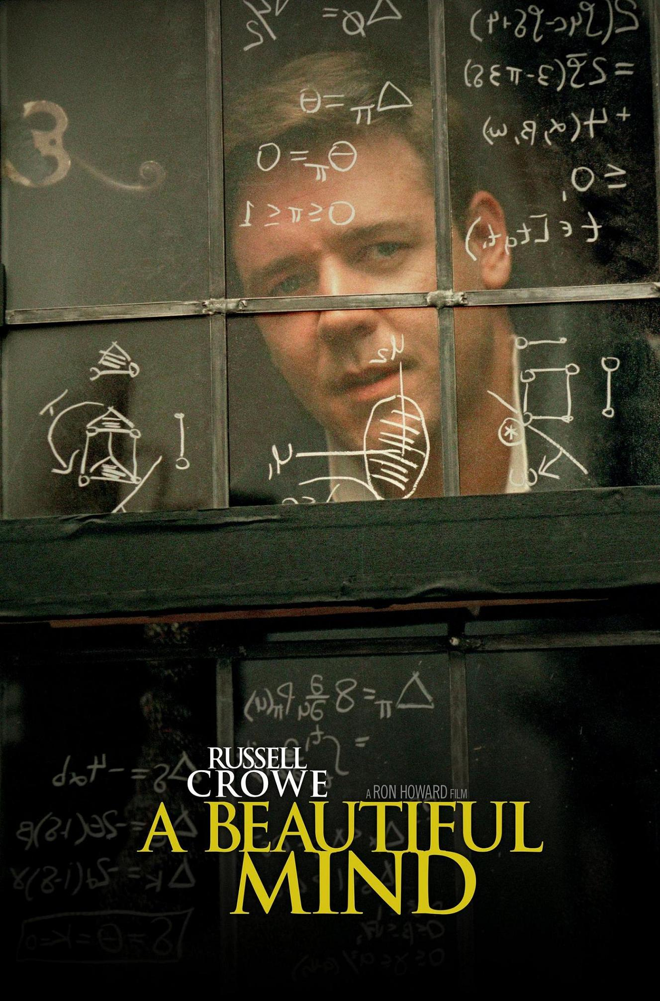 A Beautiful Mind poster e locandina