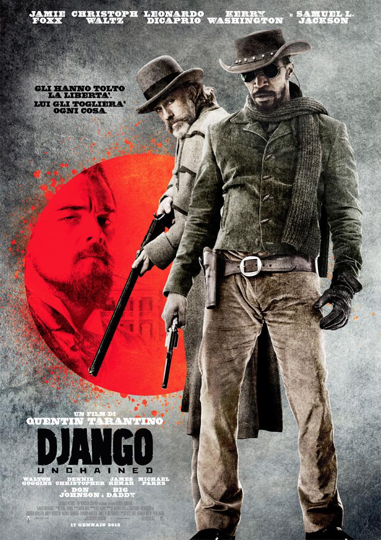 Stephen: Io conto sei colpi, negro. | Django: Io conto due pistole, negro.