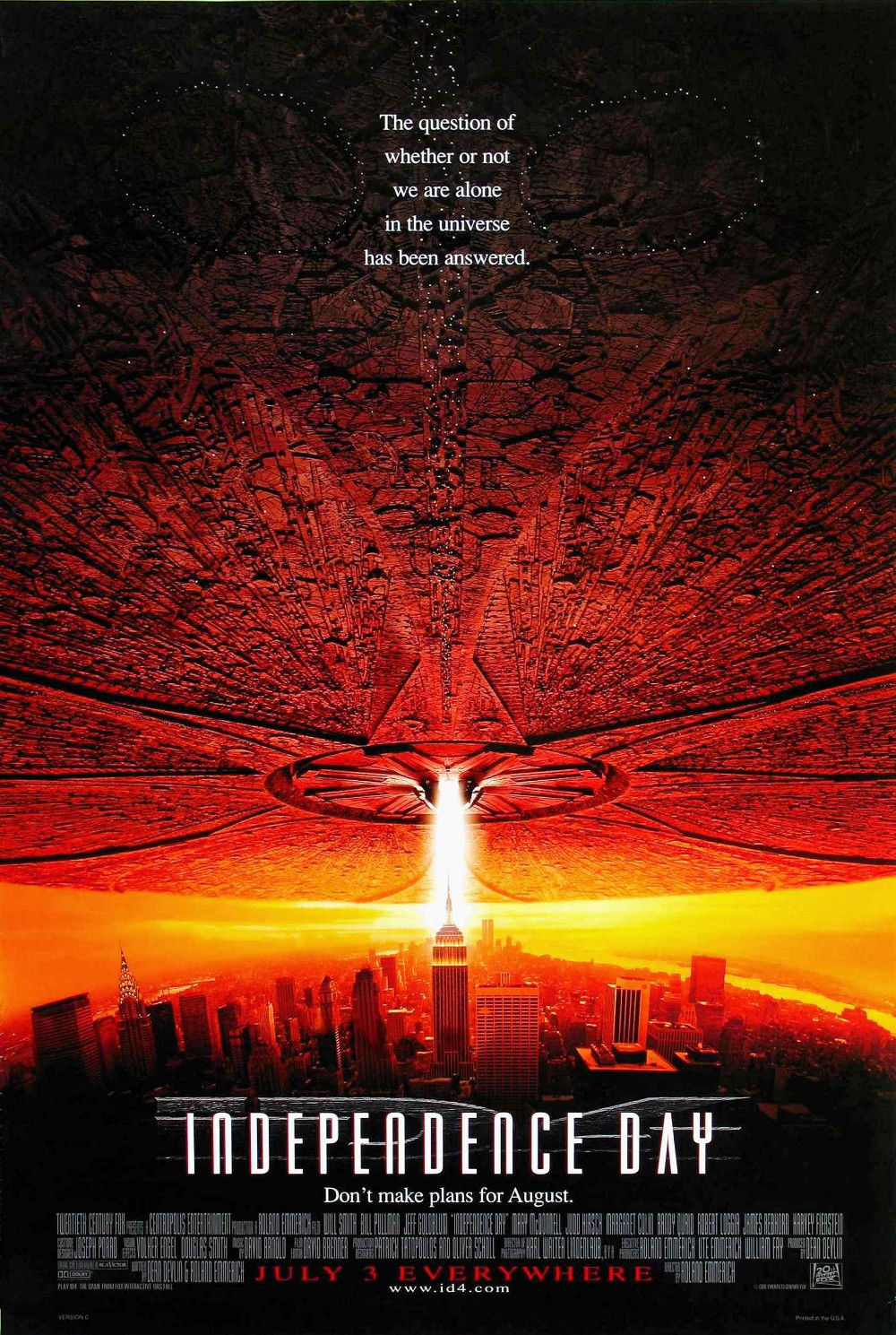 Independence Day poster e locandina