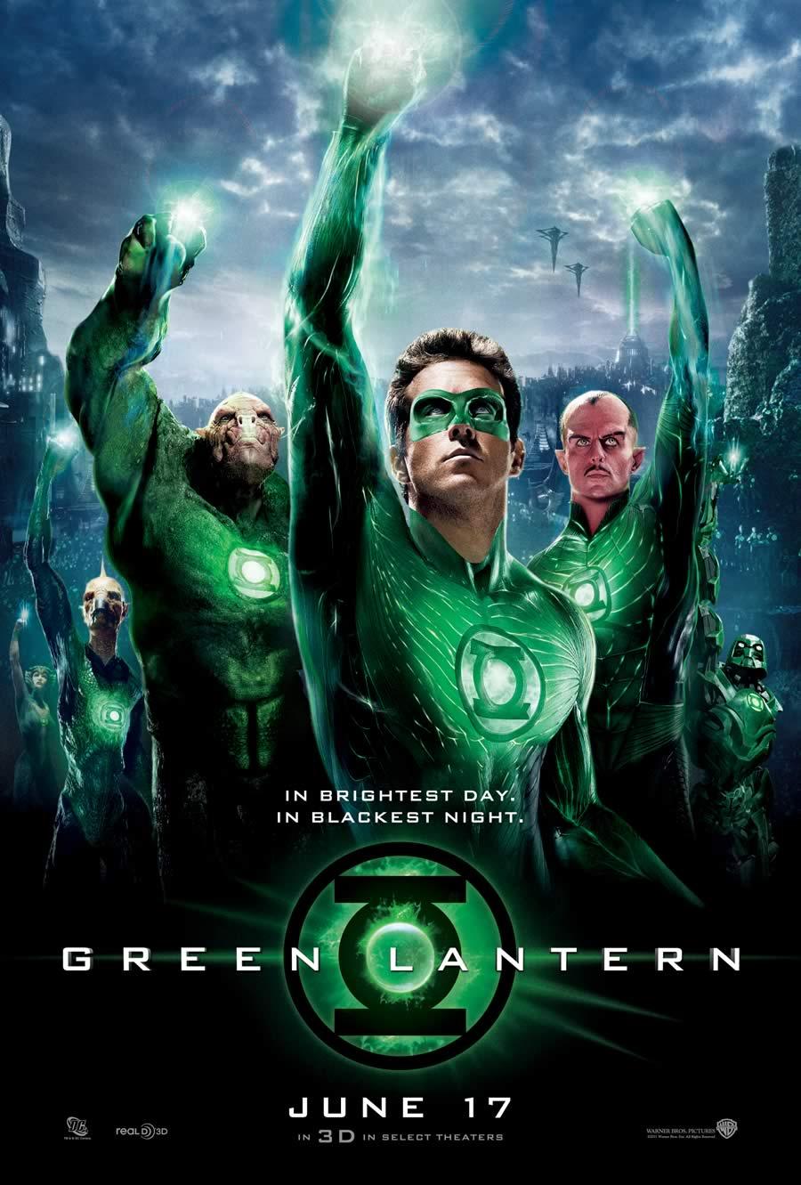 Nel giorno più splendente, nella notte più profonda, nessun malvagio sfugga alla mia ronda. E chi nel male si perde, si guardi dal mio potere: la luce di Lanterna Verde.