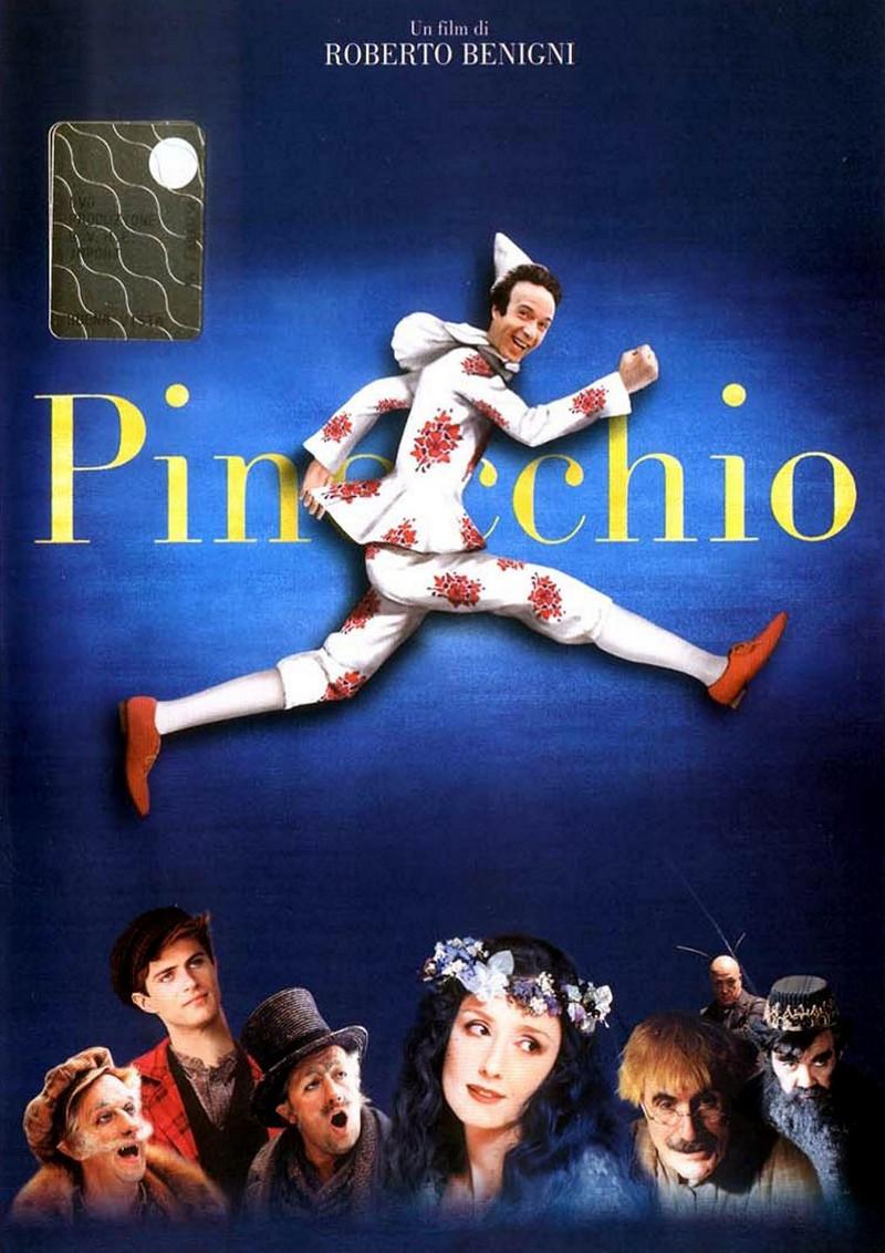 Pinocchio, locandina del film di Roberto Benigni (2002)