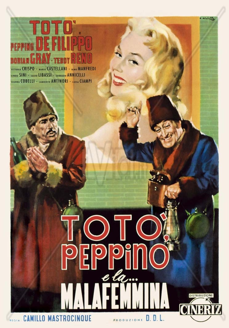Totò, Peppino e la... malafemmina (1956).AVI DVDRip AC3-ITA