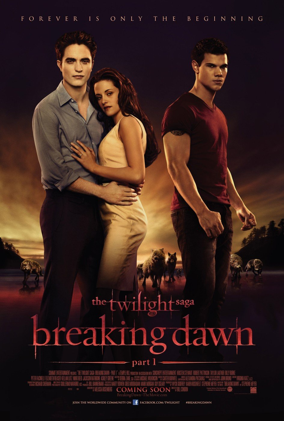 The Twilight Saga: Breaking Dawn - Parte 1 poster e locandina