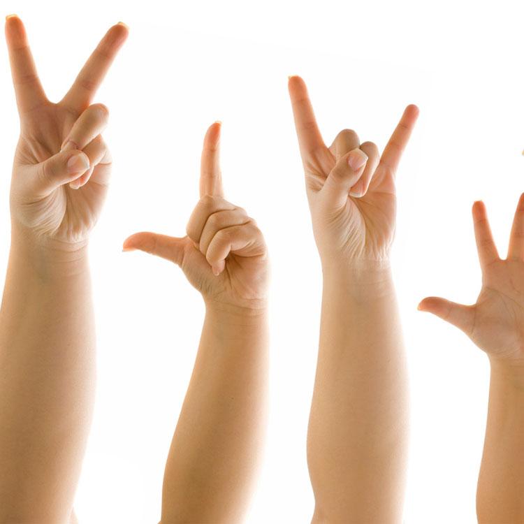 Frasi sui gesti