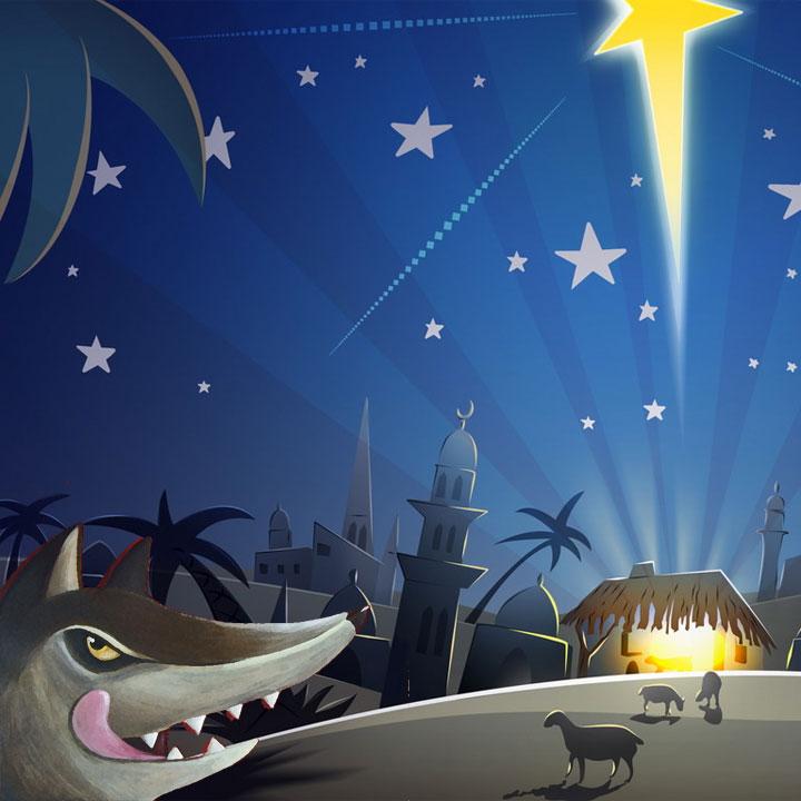 Il lupo e la notte di Natale