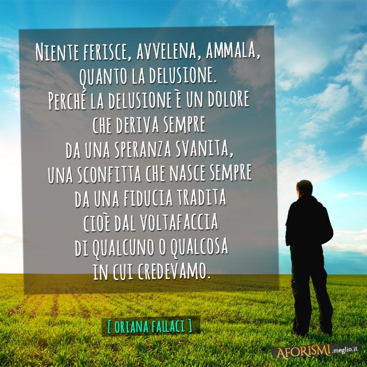 Amato Oriana Fallaci • Niente ferisce, avvelena, ammala, quanto la  WR11