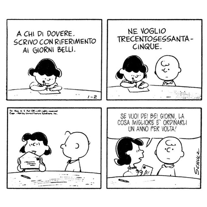 Aforismi Peanuts