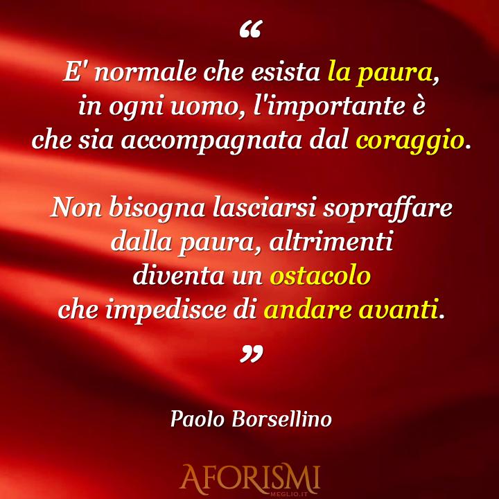 Préférence Frasi di Paolo Borsellino RP98