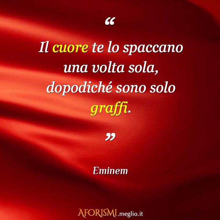 Favoloso Frasi di Eminem QR62