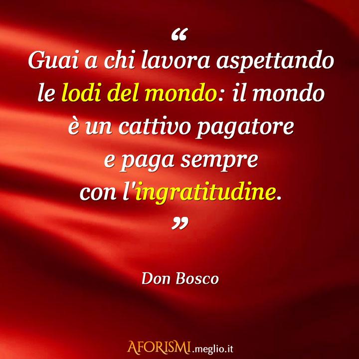 Popolare Aforismi di Don Bosco YN61