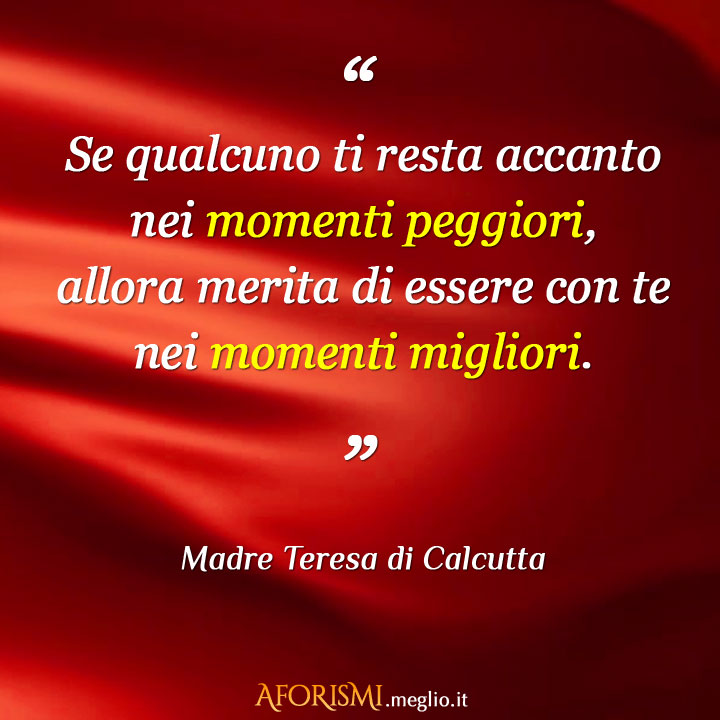 Preferenza Frasi di Madre Teresa di Calcutta GM48