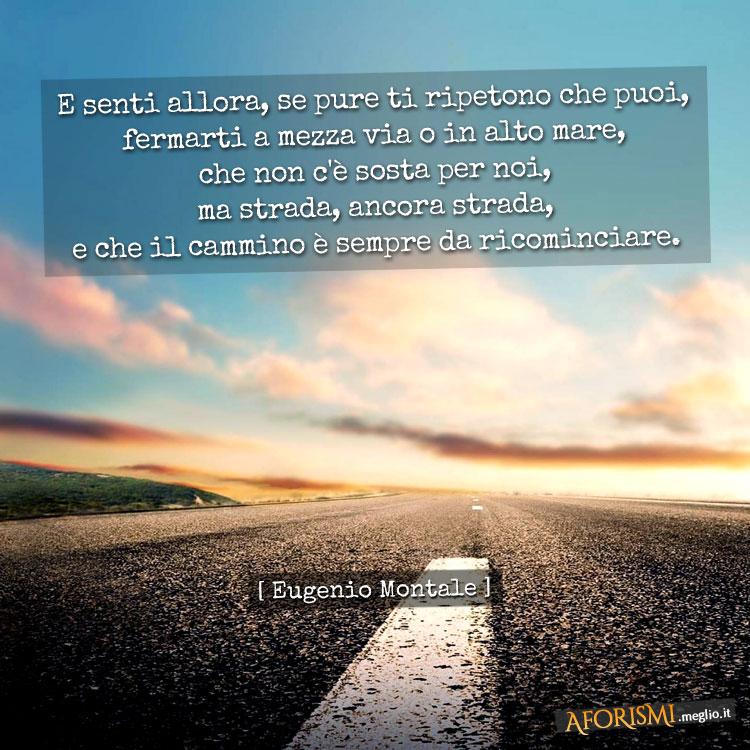 Fabuleux Frasi di Eugenio Montale GZ53