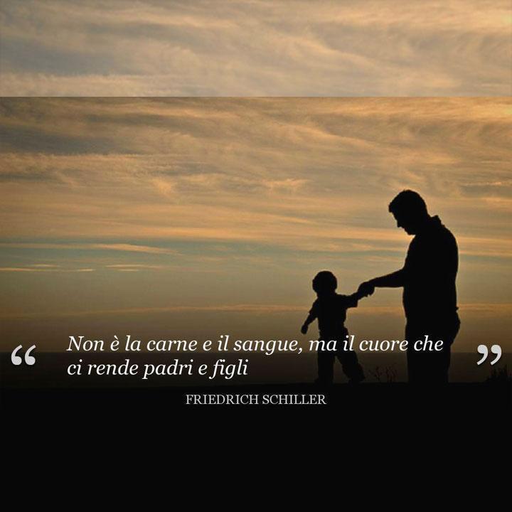 Non è la carne e il sangue, ma il cuore che ci rende padri e figli.