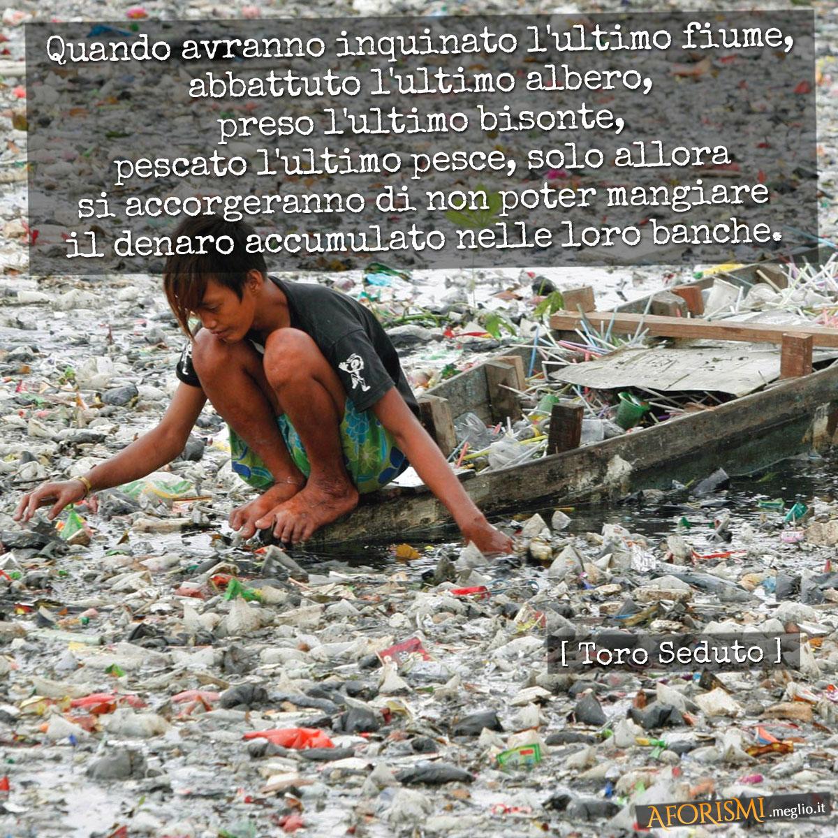 Frasi e citazioni sul tema dell'inquinamento