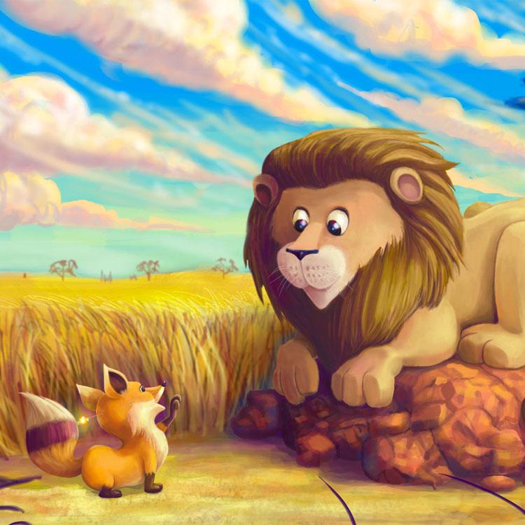 Populaire La volpe e il leone OJ57