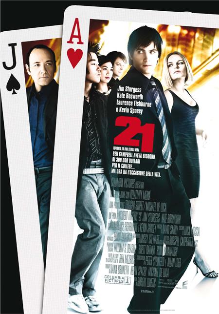 21: locandina e poster del film