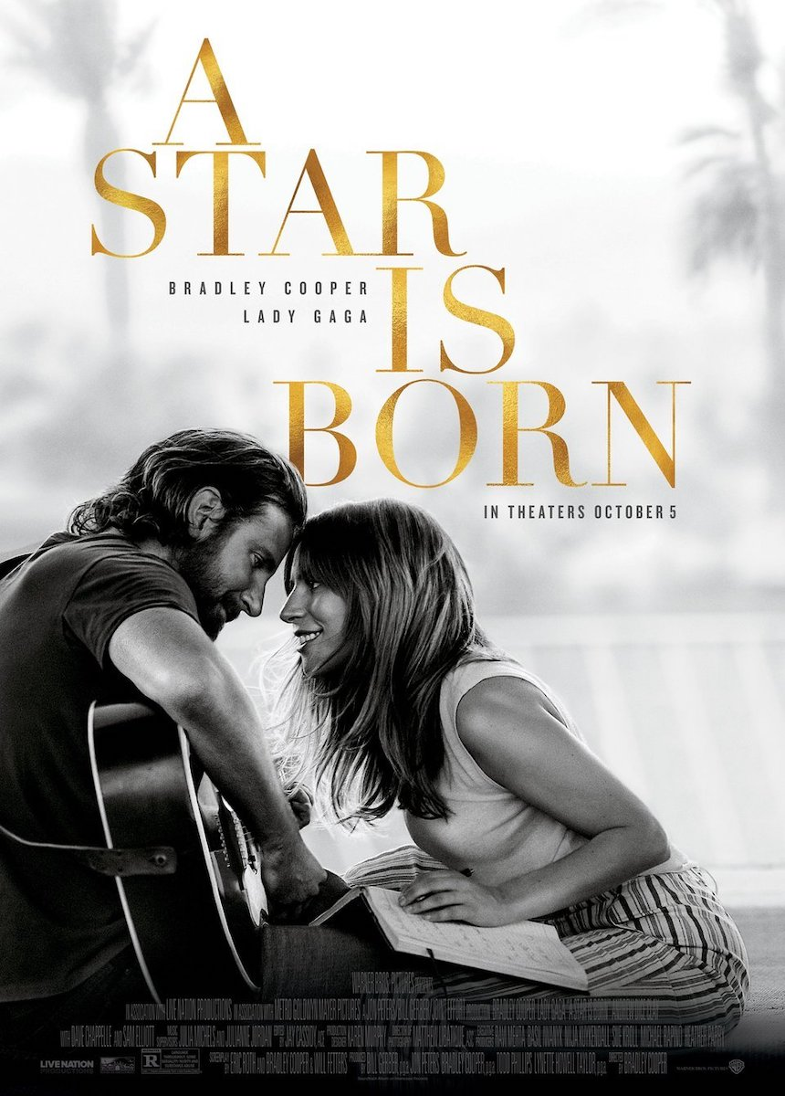 A Star Is Born poster e locandina