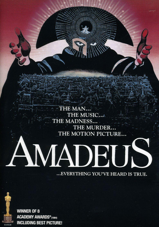 Amadeus, locandina e poster