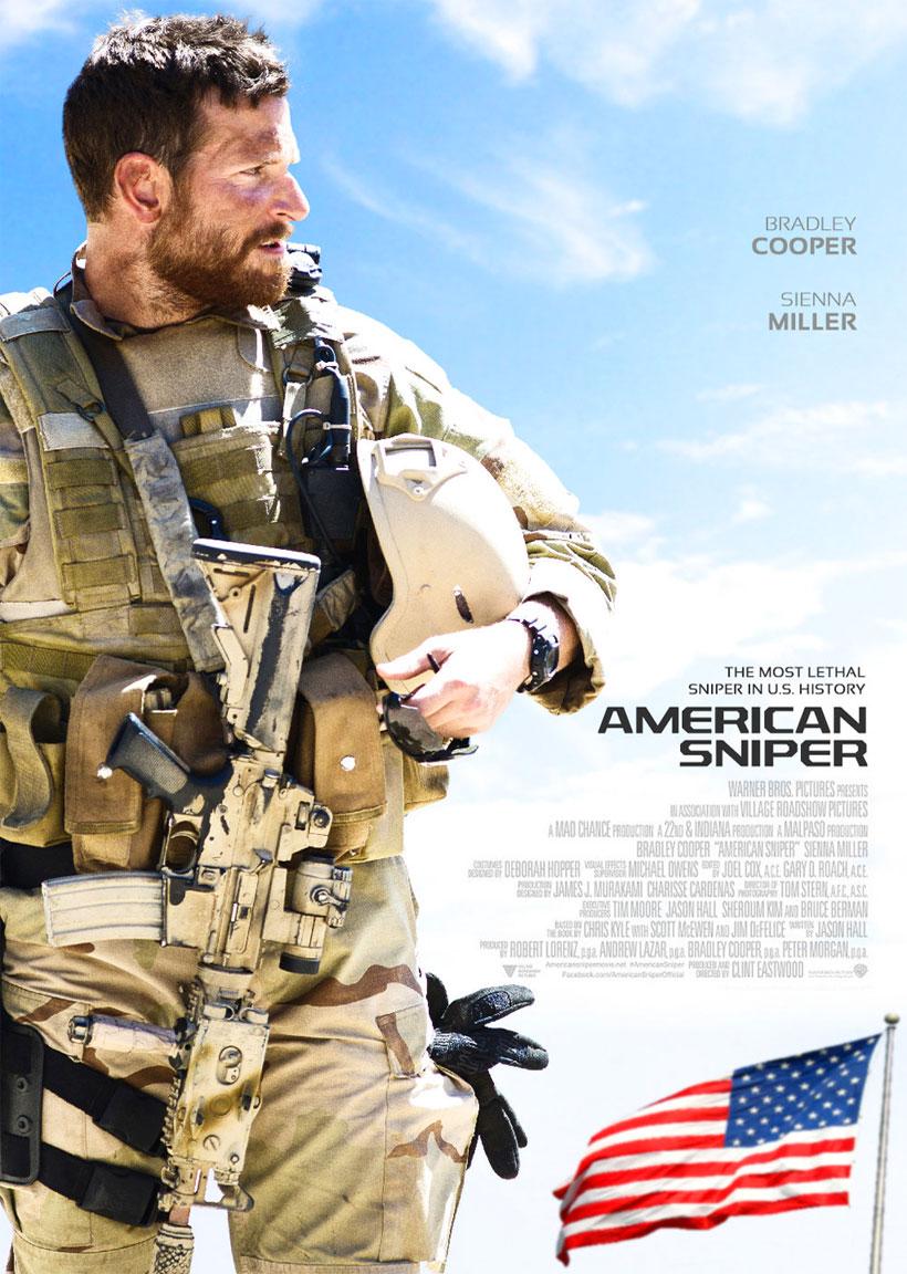 American Sniper, poster del film